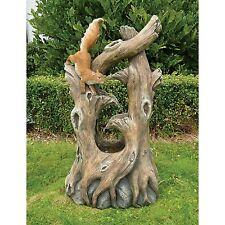 SS5539 - Tree Squirrel Cascading Sculptural Fountain w/Pump & Light Kit!