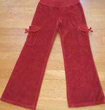 NEW Brick Red CRAZY 8 Gymboree PANTS Velour Size M 7 8 NWT