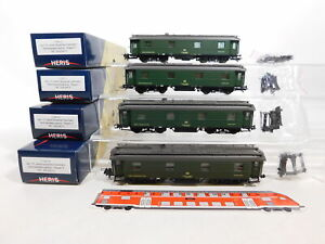 CU667-1# Heris H0/DC 11321 Bremsbelastungszug, NEM-Schächte gekürzt, DB NEM, OVP