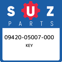 09420-05007-000 Suzuki Key 0942005007000, New Genuine OEM Part