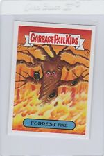 Garbage Pail Kids Forrest Fire 3a GPK 2017 Adam Geddon trading card sticker
