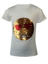 T-shirts, hauts et chemises blanches à manches courtes pour fille de 5 à 6 ans