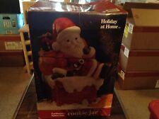 Earthware Santa cookie jar