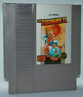 The Goonies II (1987) Cartridge Nintendo NES Game Authentic Tested Good