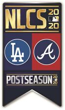 2020 NLCS PIN NATIONAL LEAGUE CHAMPIONSHIP ATLANTA BRAVES DODGERS WORLD SERIES ?