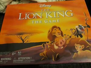 DISNEY - THE LION KING THE GAME New Great gift