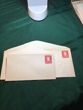 Stamps US - (2) Prepaid 2 cent embossed envelopes 1926, #10 & #6 UNUSED
