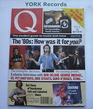 Q MAGAZINE - January 1990 - Bob Geldof / George Michael / U2 / Pet Shop Boys