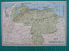Old map :Venezuela South America 1939 / landkaart / mapa / antique