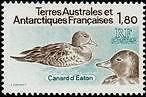 "TERRES AUSTRALES N°98 ""FAUNE, CANARDS D'EATON 1 F. 80"" NEUF xx TTB"