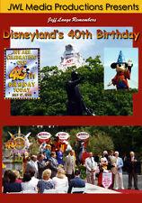 Disneyland 40th Birthday Historic DVD Jungle Cruise Fantasy in the Sky Fireworks