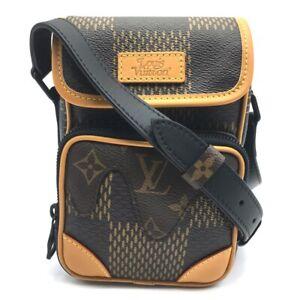 UNUSED LOUIS VUITTON x NIGO Collab N40357 Damier Giant Amazon Crossbody Bag