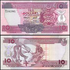 Solomon Islands 10 Dollars, 1986, P-15, UNC