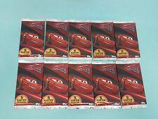 Topps Disney Cars 3 Trading Card  10 Booster / 50 Sammelkarten