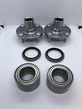 Front Pair Wheel Hub / Bearing & Seals Set Ford Escort / Mazda Protege 90-03