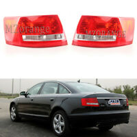 Left Right Tail Light Fit For Audi A6 S6 2005 06 07 2008 Quattro Rear Lamp Pair