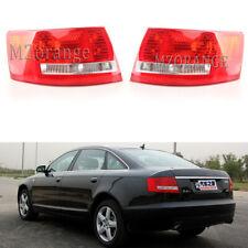 Left+Right Tail Light For Audi A6 S6 2005 2006 2007 2008 Rear Lamp Brake halogen