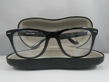 Ray-Ban RB 7034 5206 LITEFORCE Black New Authentic Eyeglasses 52mm w/Case