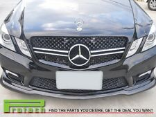 Mercedes E Class W212 10-13 E63 AMG Front Hood Sport Black Chrome Grill Grille