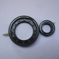 1-12mm Amplifying Metal Iris Diaphragm Aperture Condenser for Camera Microscope