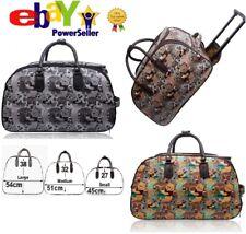 UK Funky Disney Winnie Pooh Vintage Holdall Trolley Bag Hand Luggage Travel Size