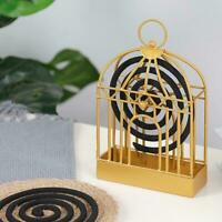 Nordic Mosquito Repellent Incense Holder Coil Incense Home Box Outdoor K8P3