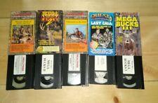 Lot of 5 Hunting Videos Vhs Good Condition f14
