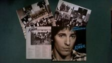 BRUCE SPRINGSTEEN the river ( 2 vinyles + INSERT 4 pages avec textes )