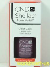 CND Shellac GelColor UV/LED: #90517_ Tango Passion 0.25fl.Oz