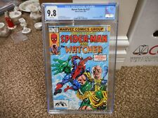 Marvel Team Up 127 cgc 9.8 Amazing Spiderman and the Watcher NM MINT 1983 WHT pg