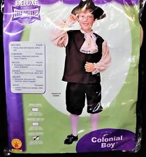 Colonial Boy U S History Costume School Colonist by Rubies  Sz L              D3