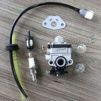 Carburetor Fuel Line Kit For Redmax Roybi MTD Shindaiwa Walbro # 753-04296 Carb