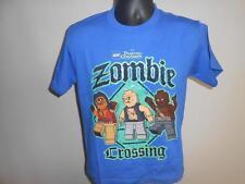 "New-Lego ""Zombie Crossing""  Youth Medium Shirt"