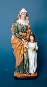 Statua Sant' Anna cm30 in resina, made in ITALY