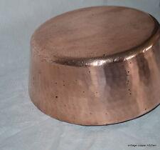 "French 12"" 2.5mm Dehillerin mauviel windsor copper pan saute"