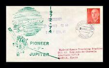DR JIM STAMPS PIONEER F JUPITER SPACE MISSION MADRID SPAIN COVER