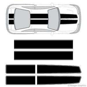 Mitsubishi Eclipse EZ Rally Racing Stripes 3M Vinyl Stripe Decals Graphics