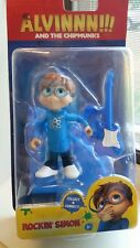 ALVIN AND THE CHIPMUNKS FIGURE Rockin' Simon Action Figure WITH Guitar BRAND NEW