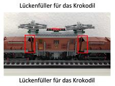 LEGO® Eisenbahn 10277 Krokodil Lückenfüller, Teile zum Schließen der Lücke