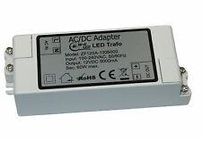 LED TRAFO|12V DC|60W max|Transformator|Netzteil|5A|MR16|GU5.3|Streifen|GU4|MR11
