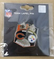 Chicago Bears VS Pittsburgh Steelers 9/24/17 NEW GAME DAY NFL PIN   SHIPS FREE