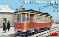 "Soviet Tram ""X""-Series Early Type (Plastic model kit) 1/35 MiniArt  38020"