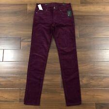 Kut From The Kloth Stitch Fix Womens Size 6 Wine Diana Corduroy Skinny Pants