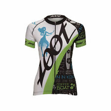 Women's Regular Size Polyester Zoot Cycling Jerseys