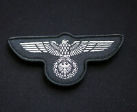 GERMAN WEHRMACHT PREACHED EAGLE PATCH WW2 SILVER NEW BADGE THIRD REICH