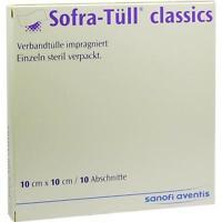 SOFRA TÜLL classics 10x10 cm Abschnitte Inhalt: 10St