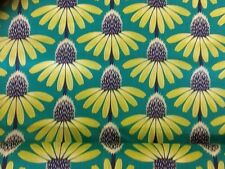 Pretty Potent Echinacea Preppy Voile Craft Fabric By The Half Metre