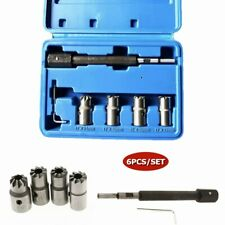 5xDiesel Injector Seat Cutter Tool Set For BMW Mercedes-Benz Renault Ford Models