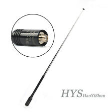 long range spring telescopic two way radio antenna VHF&UHF Female for Baofeng