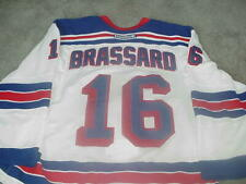 Derick Brassard Game Used New York Rangers Jersey Steiner Sports Certified
